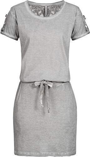 Bestellung neueste kaufen Wählen Sie für späteste Casual Damen T-Shirt Kleid I Freizeit Kleider Grau I Stitch ...