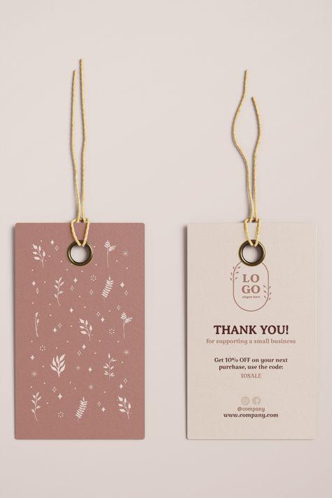 #thankyoutag #printabletag #businesscard #smallbusiness #businessstationery #shopowners #sellingtips #supplyforbusiness #customerservice #packaging #minimalistdesign #clothesbranding #brandingideas #editabletemplate #minimaltemplate