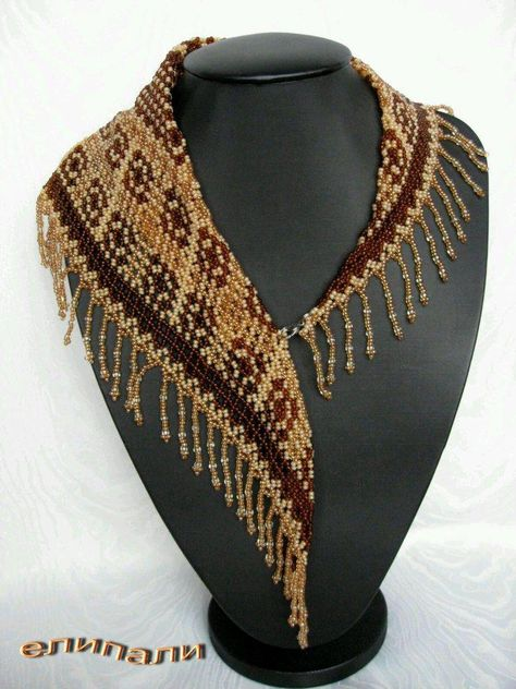 Beaded Scarf (Beaded Necklace) – The Free Bead Encyclopedia
