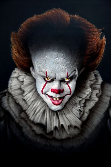 Pennywise Clown Horror Pennywise The Clown Horror Movie Art