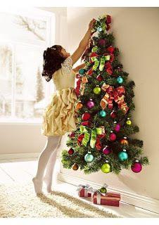 Aprende Como Hacer 8 Arbolitos Navidenos Para Decorar Paredes Lodijoella Hacer Arbol De Navidad Arbol De Navidad Pared Decoracion Navidad Manualidades