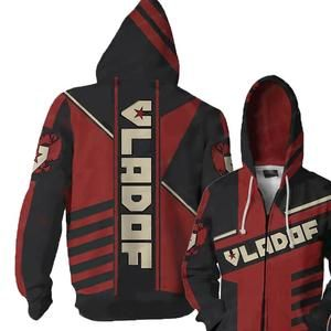 Borderlands 2 MALIWAN Hoodie Sweatshirt Costume zip up Coat Jacket Halloween New