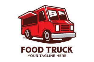 Food Truck Logo Design Graphic By Nuranitalutfiana92 Creative Fabrica Food Truck Menu Food Truck Design Logo Food Truck