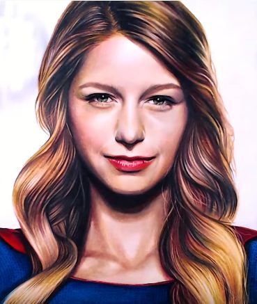 How To Draw Supergirl Melissa Benoist From The Cw Tv Series Supergirl In 2020 Cw Tv Series Celebrities With Cats Supergirl