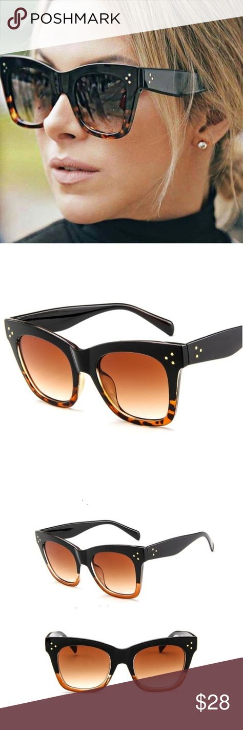 73ef91ff2fa Boutique Oversized Fashion Sunglasses From ever trendy sisters   T J  Designs chic