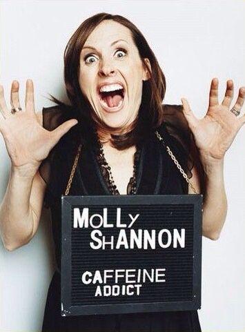 Celebrity Crimes: Molly Shannon - Caffeine Addict
