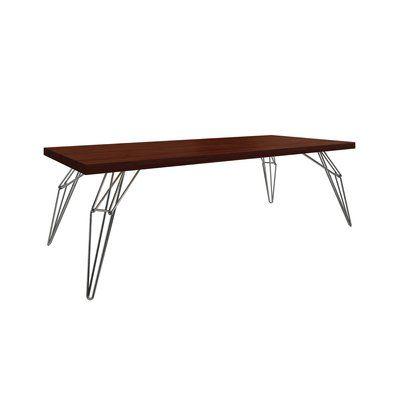 "Saloom Furniture Lem Dining Table Size 29 5"" H x 42"" W x 80"" D"