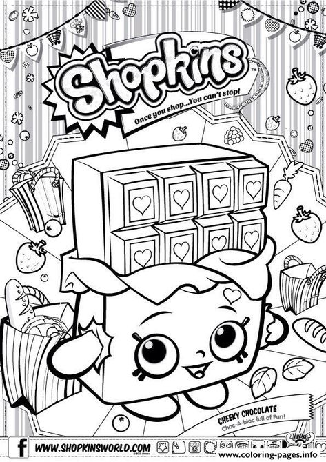 Shopkins Coloring Pages Melonie Pips SHOPKINS COLORING PAGES {23 - best of shopkins coloring pages snow crush