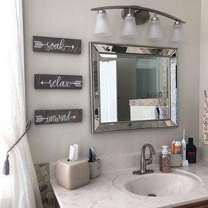 Bathroom Decor Wall, Rustic Bathroom Wall Decor Ideas