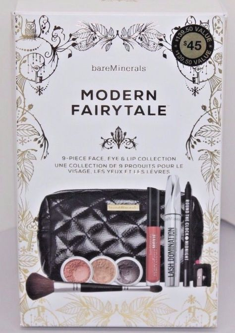 Bareminerals Modern Fairytale 9 Piece Face Eye Lip Kit Wtih Free Gifts Hotshoes4hots Pinterest Fairy Tales