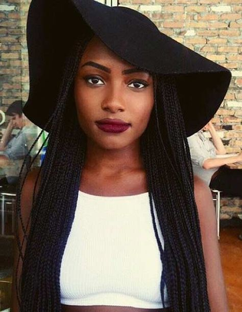 41 Beautiful Micro Braids Hairstyles