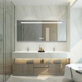 Overstock Com Online Shopping Bedding Furniture Electronics Jewelry Clothing More Led Mirror Bathroom Bathroom Design Luxury Bathroom Vanity Mirror