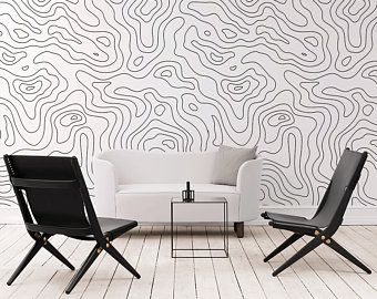 3d Black Shape Removable Wallpaper Self Adhesive Wallpaper Extra Large Peel Stick Wallpaper In 2020 Wall Painting Living Room Geometric Wall Paint Bedroom Wall Paint