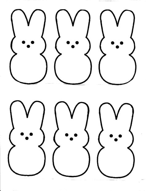 Woodworking For Kids Dads Nanny's Nonsense: Easter peeps printable.Woodworking For Kids Dads Nanny's Nonsense: Easter peeps printable Bunny Crafts, Felt Crafts, Easter Crafts, Crafts For Kids, Diy Easter Cards, Easter Decor, Diy Crafts, Easter Peeps, Easter Party