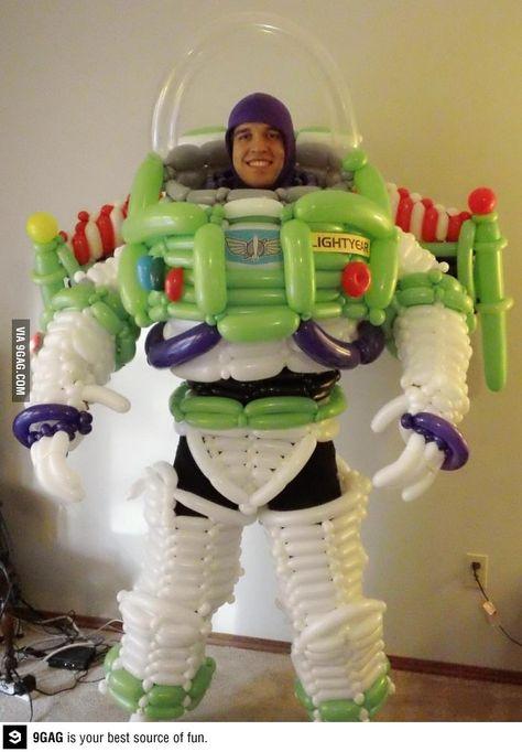 Balloon Buzz Lightyear Costume