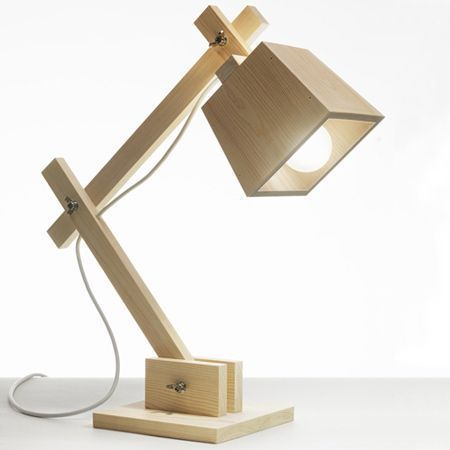 Pin By Busairy On Lichter Wooden Desk Lamp Wood Lamp Design Wooden Lamp