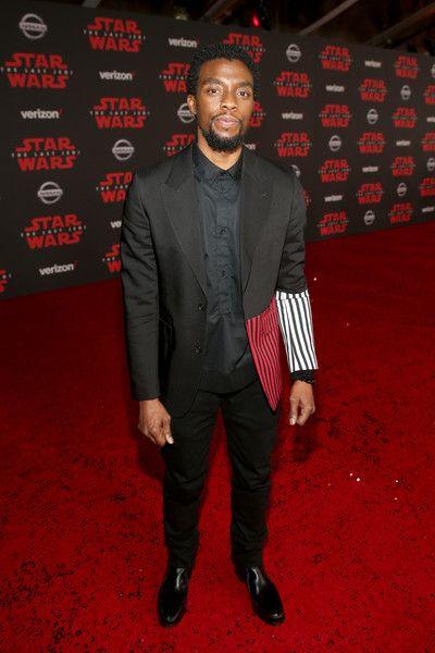 Chadwick Boseman Photos Photos Star Wars The Last Jedi Premiere Black Panther Chadwick Boseman Chadwick Boseman Chadwick