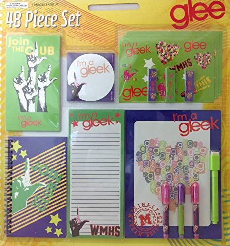 Glee Stationary 48 Piece Gift Set Review With Images Art And