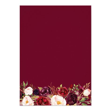 Fall in Love Burgundy Floral Wreath Bridal Shower Invitation #Ad , #sponsored, #Wreath#Floral#Shower#Bridal