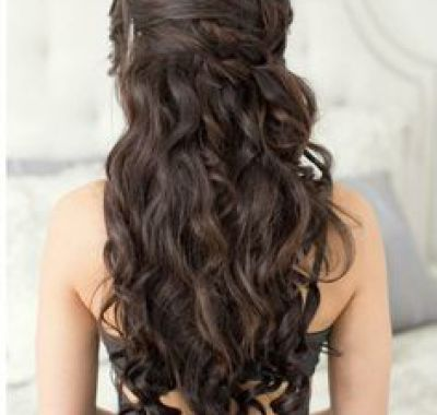 Prom Hairstyles For Long Dark Brown Hair Hairstyles Ideas
