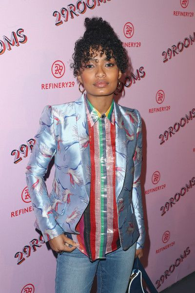 Yara Shahidi attends the Refinery29 29Rooms Los Angeles: Turn It Into Art Opening Night Party.