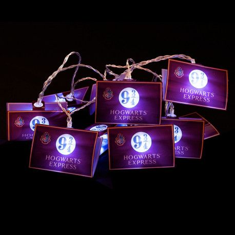 Guirlande Lumineuse Harry Potter Voie Express 9 3 4 Cadeau Geek Decoration Harry Potter Mug Harry Potter