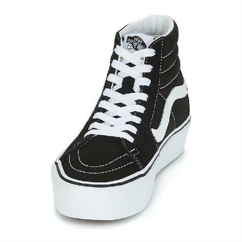 vans scarpe donna nere