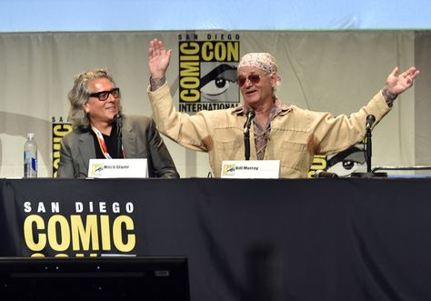 Bill Murray Photos - Comic-Con International 2015 - Open Road Panel - Zimbio