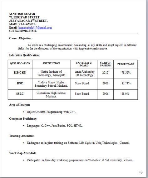 Resume For Mechanical Engineer 2017 Resume 2017 arjun Pinterest - resume basics