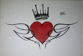 Resultado De Imagen Para Dibujos Graffitis De Corazones Amor En