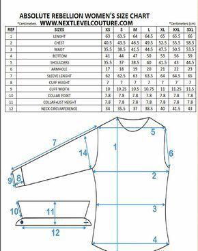 Absolute Rebellion Women Size Chart Men S Kurta Dress Shirts For