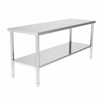 Ad Ebay Url Bbq Work Table Outdoor Kitchen Prep Stainless Steel Bench 24 X70 24x70 Adebay Bbq Bench Kit In 2020 Stainless Steel Bench Steel Bench Work Table