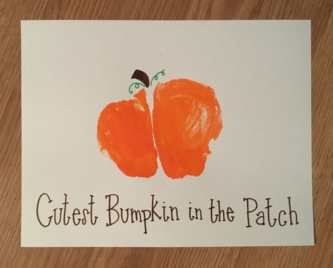 Baby's First Halloween Crafts: from footprint art turned ghosts & ghouls to the cutest baby bumpkins in the patch! Baby Fall Crafts, Fall Crafts For Kids, Family Crafts, Toddler Crafts, Crafts With Baby, Halloween Crafts For Toddlers, Kids Crafts, Craft Projects, Halloween Arts And Crafts