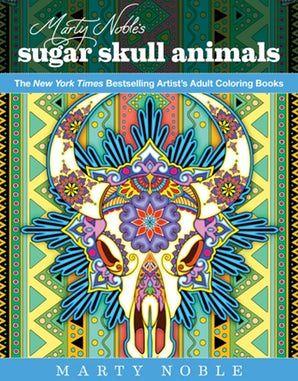 Marty Noble Sugar Skull Skull Animals