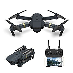 6 Drone With Camera Live Video Eachine E58 Wifi Fpv Quadcopter With 120 Wide Angle 720p Hd Camera Foldable Drone Rtf Foldable Drone Hd Camera Fpv Quadcopter