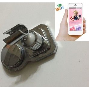 Wireless Hidden Camera For Bathroom Waterproof Spy Shower Rack