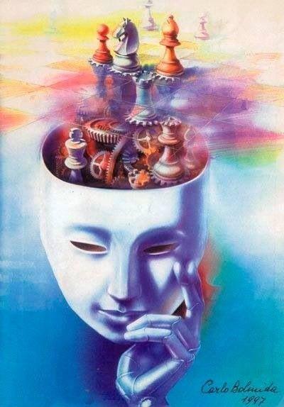 Mind Chess | Surreal art, Surrealism painting, Cute art
