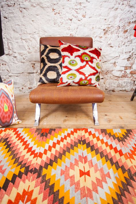 Colorful And Bright Anatolian Kilim Kelim Teppich Teppich