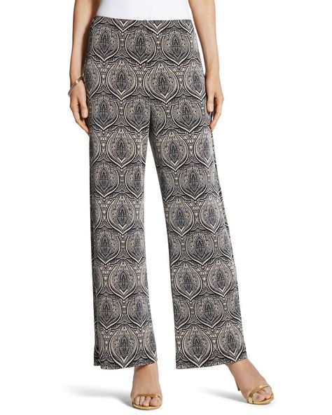 cf547c906db Chico s Women s Travelers Classic Printed Pants