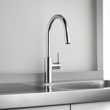 Kwc 10 441 003 Luna E Kitchen Faucet Faucet Faucet Handles