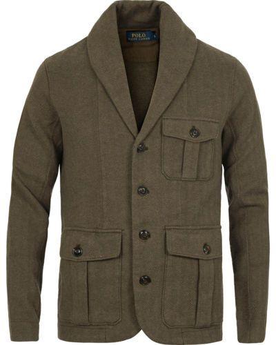 Polo Ralph Lauren Men Herringbone Shawl Knit Sweater Blazer Jacket Cardigan S Functional Fashion Polo Ralph Lauren Mens Sweaters