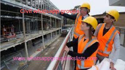 Join Civil Engineering Whatsapp Group Links List Hello
