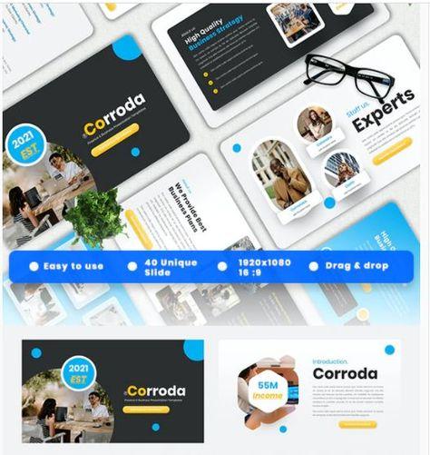 Corrado - Finance Powerpoint Template