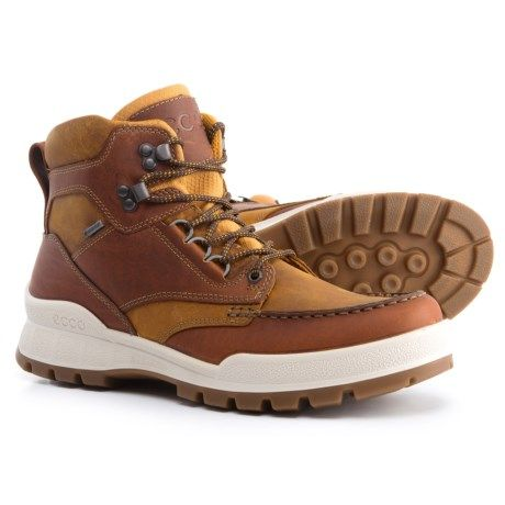 ECCO Track 25 Gore Tex® Moc Toe Hiking Boots Waterproof