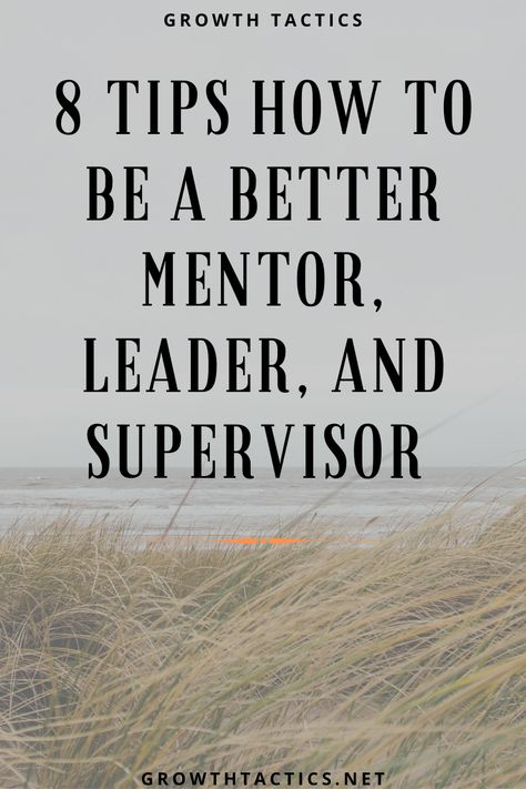 Are you trying to make those around you better? Improving your mentoring skills will make you a better leader, coach, and supervisor. Leadership Coaching, Leadership Development, Professional Development, Self Development, Qualities Of A Leader, Job Satisfaction, Instructional Coaching, Work Motivation, Learn A New Skill