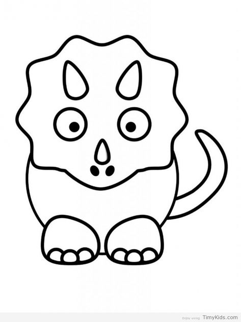 99 Top Coloring Pages Of Cute Dinosaurs Images & Pictures In HD