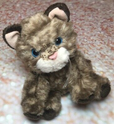 Russ Whiskers Kitten 5 Plush Brown Tabby Cat 2480 Stuffed Animal Toy Kitty Ebay In 2020 Cat Plush Tabby Cat Pet Toys