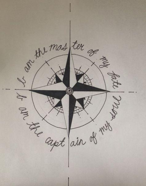 Compass Tattoo - 300+ Image Ideas