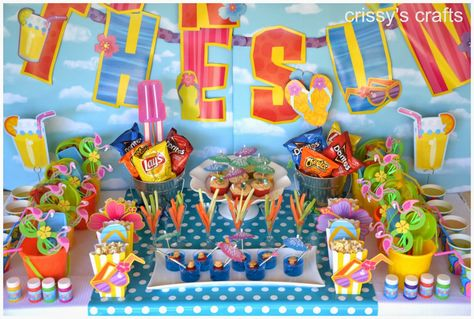 Crissy's Crafts: Fun in the Sun Party