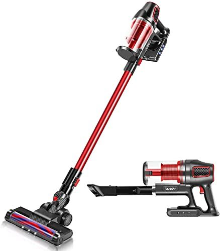 Enjoy Exclusive For Iwoly I9 Cordless Vacuum Cleaner 2 1 Lightweight Bagless Stick Handheld Vacuum Powerful Led Floor Head Online Tophitsgoods In 2020 Best Cordless Vacuum Handheld Vacuum Cordless Vacuum